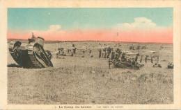 Guerre   -    Camp Du Larzac  - Les Tanks En Action      ,animée       Q1128 - Francia