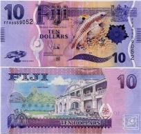 FIJI       10 Dollars       P-116a      ND (2013)       UNC - Figi