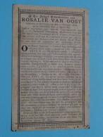 DP Rosalie VAN OOST ( ) Ruysselede 21 Oct 1838 - 13 April 1887 ( Zie Foto's ) ! - Overlijden