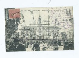 CPA  -   Chatou - La Mairie - Souvenir De La Fête Du 18 Juin 1905 - Chatou