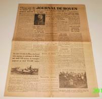 Le Journal De Rouen Du 2 Avril 1943. (Lorient-Sotteville-Guyanne) - Revues & Journaux