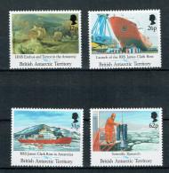 B.A.T. -  RRS James Clark Ross 1992 (**/mnh) - British Antarctic Territory  (BAT)