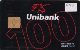 Denmark, DD 113, Unibank Unikontanten, Only 10245 Issued, 2 Scans. - Danemark