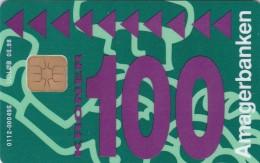 Denmark, DD 120b, Amagerbanken Logo, Only 2000 Issued, 2 Scans. - Danemark