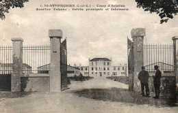 CPA - SAINT-SYMPHOREN (37) - Aspect Du Quartier Tulasne , Camp D´Aviation , Entrée Principale Et Infirmerie En 1933 - Autres Communes