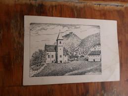 Kostel Prastara Zupa U Hrvatskom  Zagorju  Po Originalnom Crtezu J Gojkovica - Croatia