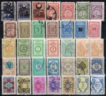 TÜRKEI - Lot Dienstmarken 35x  ** / Used - 1921-... Republik