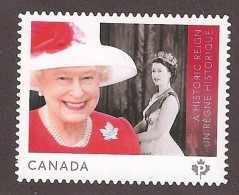 CANADA 2015, # 2859i, QUEEN ELIZABETH 11,  A HISTORIC REIGN, HATS, CHAPEAUX, BIJOUX, JEWELS, - Booklets