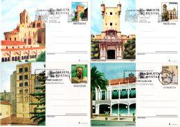 Ganzsachenpostkarten - 8 Stück 4 X Postfrisch Und 4 S Gestempelt, Gem. Scan, Los 45976 - Ganzsachen
