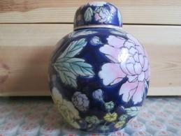 POT DECOR CHINOIS FLEUR - Vaisselle, Verres & Couverts