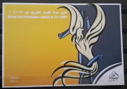 Lebanon 2007 Mi. Blok 52 S/S Souvenir Sheet MNH - Return Of The Liberated Prisoners - Lebanon
