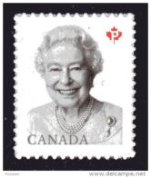 CANADA 2016  2888, Queen Elizabeth 11,  Single From Booklet   Mnh - Carnets