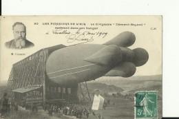 AV48   --  DIRIGEABLE, ZEPPELIN   ,, CLEMENT  - BAYARD ,,  --  1909 - Dirigibili