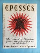 1570 -  Suisse Vaud Epesses Ernest Duboux (petite Déchirure) - Autres