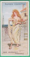 Chromo John Player & Sons, Player´s Cigarettes, Gilbert And Sullivan - Mad Margaret - Ruddigore N°38 - Player's