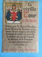 1583 -  Suisse Vaud Lavaux La Vieille Tour.... Construite Par La Reine Berthe..... - Etiquettes