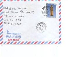 Cote D'Ivoire ( Lettre Par Avion De 2000 De Ouangolodougou Vers La Grande-Bretagne à Voir) - Ivory Coast (1960-...)