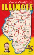 Map Of Illinois The Land Of Lincoln With Map - Maps