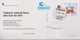 D 1245) Citykurier 2015 GSK: Frohe Weihnachten, Der Weihnachtsmann Streikt - Christianisme