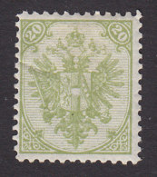 Bosnia, Scott #9, Mint Hinged, Coat Of Arms, Issued 1879 - Bosnia And Herzegovina