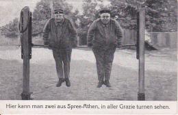 AK 2 Deutsche Soldaten - Hier Kann Man Zwei Aus Spree-Athen... - Humor - Feldpost - 1916  (24674) - Humor