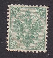 Bosnia, Scott #5a, Mint Hinged, Coat Of Arms, Issued 1894 - Bosnia And Herzegovina