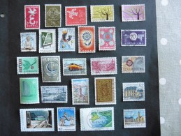 Luxembourg :  25  Timbres  Oblitérés - Luxembourg