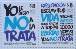 Argentina 2016 ** America UPAEP 2015.Lucha Contra La Trata De Personas. See Desc. - Argentina