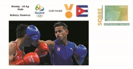 Spain 2016 - Olympic Games Rio 2016 - Gold Medal Boxing Male Cuba Cover - Juegos Olímpicos