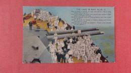 Navy Ship  Lads In Navy Blue  -ref 2319 - Warships