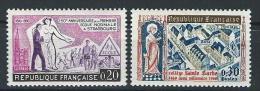"FR YT 1254 & 1280 "" Ecole Et Collège "" 1960 Neuf** - France"