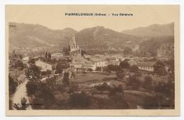 PIERRELONGUE - VUE GENERALE - CPA NON VOYAGEE - France