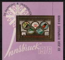 Comores - Bloc Feuillet N°Yv. ? - Olympics - Neuf Luxe ** - MNH - Postfrisch - Invierno 1976: Innsbruck