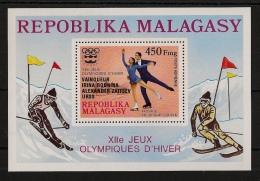 Madagascar - Bloc Feuillet N°Yv. 14 - Olympics - Neuf Luxe ** - MNH - Postfrisch