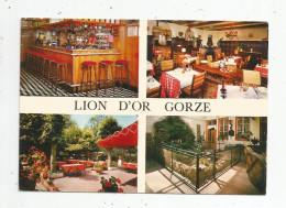 G-I-E , Cp , Hotels & Restaurants , HOSTELLERIE DU LION D'OR , 57 , GORZE , écrite , Ed : Le Rapport Photographique - Hotels & Restaurants
