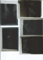 Boite De 10 Plaques De Verre 120x90-Ostende-Bruges-Damme (A Voir?) - Plaques De Verre
