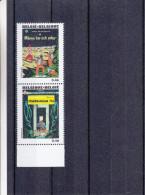Bandes Dessinées - Tintin - Belgique - Timbres De 2007 ** - MNH - Fusée - Astronautes - Lune - Temple - Belgique