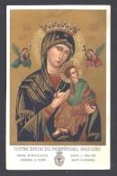 VALRAS - Souvenir Du Sanctuaire De Notre Dame Du Perpétuel Secours - 2 Scans - Images Religieuses