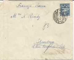 LETTRE DE 1933 POUR LA FRANCE - Latvia