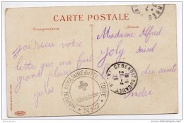 F.M  Cachet Hopital Auxiliaire  N° 7 Cannes - Poststempel (Briefe)