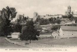 197* 115 Environs De Poitiers - Chauvigny - Vue Prise Rue De La Fontaine - Chauvigny