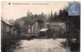 EYMOUTIERS ( Haute Vienne ) -  Vue Sur Le Pont De Peyrat - 1930 - Eymoutiers