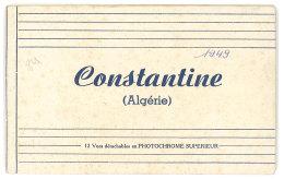 Algérie - Carnet 12 Cp Constantine ( 11 Cp Dans Le Carnet ) - Constantine