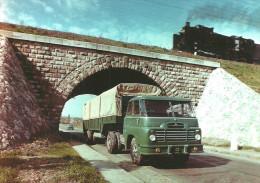 TRUCK * CAMION * LORRY * CSEPEL 705 * RAIL * RAILWAY * RAILROAD * TRAIN * STEAM LOCOMOTIVE * Reg Volt 0116 * Hungary - Trucks, Vans &  Lorries