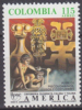 Colombia 1989 Airmail Yvert 800, America UPAEP (II), MNH - Colombia