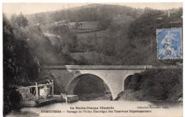 EYMOUTIERS ( Haute Vienne ) -  Barrage De L'Usine Electrique Des Tramways Départementaux - 1930 - Eymoutiers