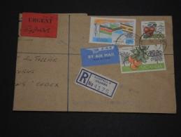 OUGANDA  - Enveloppe En Recommandée Pour La France En 1976 - A Voir - L 1372 - Ouganda (1962-...)
