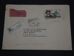 ESPAGNE  - Enveloppe En Recommandée Exprès Pour La France En 1976 - A Voir - L 1373 - 1931-Aujourd'hui: II. République - ....Juan Carlos I