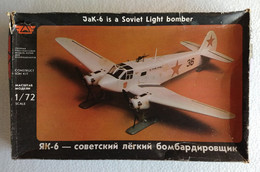 Jak-6 Soviet Light Bomber 1/72 - Airplanes