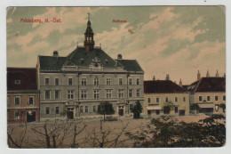 Austro Hungarian Monarchy Austria Feldsberg Rathaus Gasthaus Geschäft Shop Guesthouse Post Card Postkarte POSTCARD - Austria